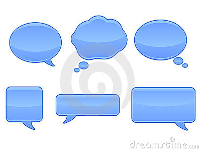Speech Bubble Icons / EPS
