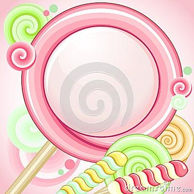 Speech bubble lollipop