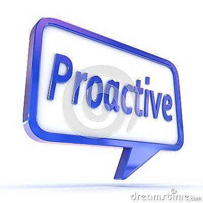 Speech Bubble Proactive