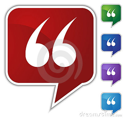Free Speech Bubble Set - Quotes Royalty Free Stock Images - 10047069