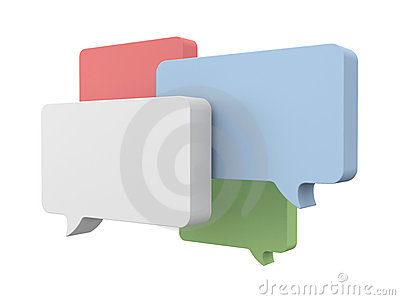 Speech Bubbles Royalty Free Stock Photography - Image: 22179737