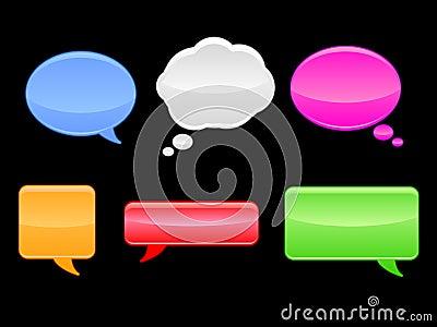Speech Bubbles / EPS