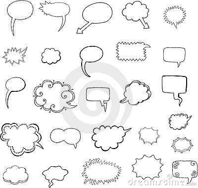 Cool Talk Bubble Speech Bubbles Vector ...