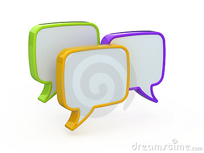 Speech or chat icon