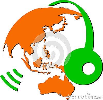 Speech globe