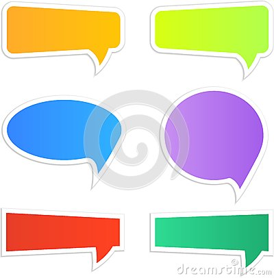 Speech icons