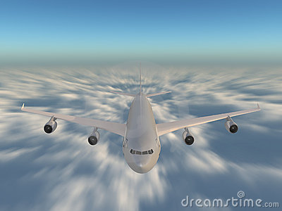 Speed above the clouds