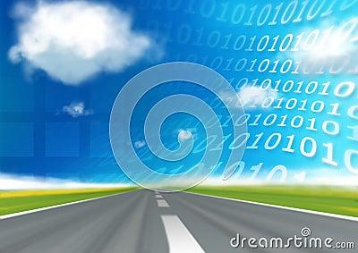 Speed binary code highway