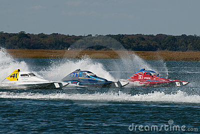 Speed Boat Race Editorial Image
