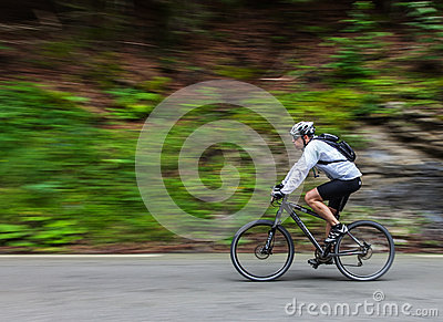 Speed cycling Editorial Stock Image