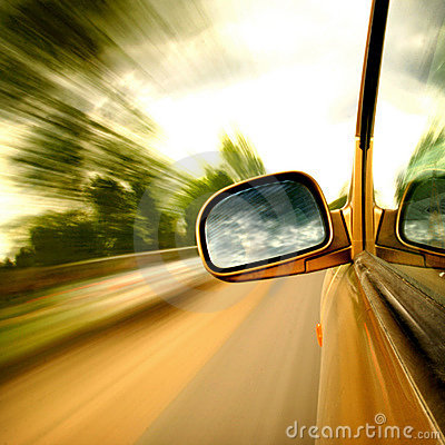 Free Speed Drive Stock Photography - 8442382