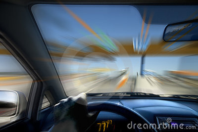 Speed Driving Royalty Free Stock Photos - Image: 10629298