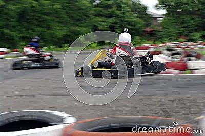 Speed go-cart racers