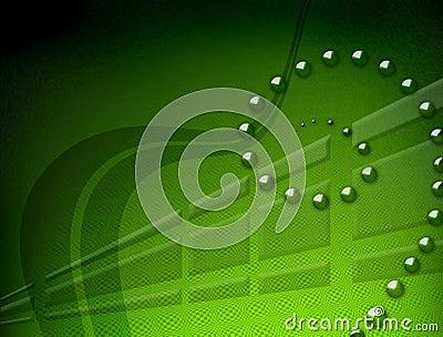 Speed green backdround
