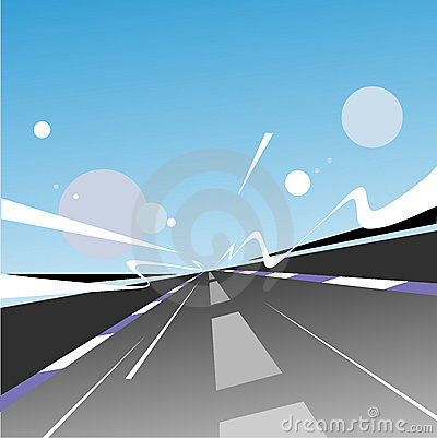 Free Speed Highway Royalty Free Stock Images - 1093669
