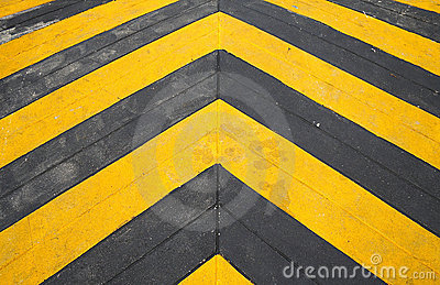 Speed hump road marking