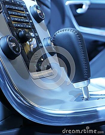 Speed lever of auto