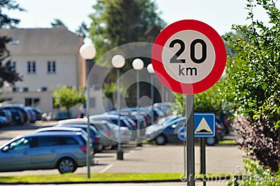 Speed limit of 20