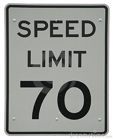 Speed Limit 70 sign  Speed Limit Sign 70