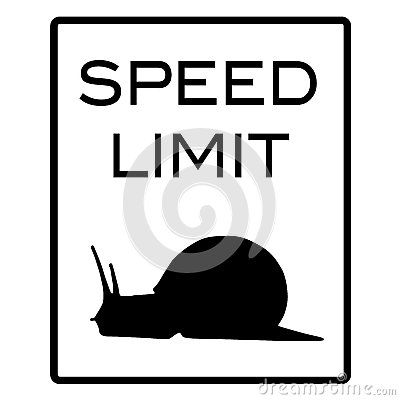 Speed Limit Snail