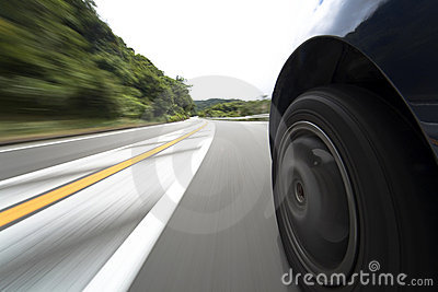 Speed road and wheel