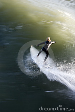 Free Speed Surfer Stock Image - 816311