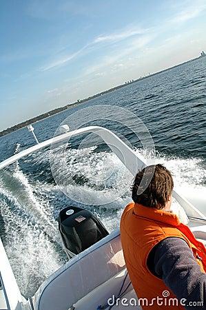 Free Speedboat 1 Royalty Free Stock Image - 1029836