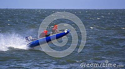 Speedboat Jumping