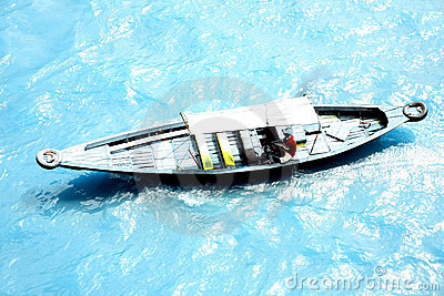 Speedboat At Musi River 5