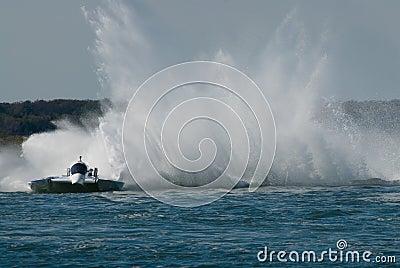 Speedboat Race
