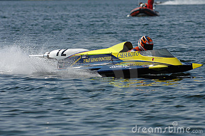 Speedboat race Editorial Photography