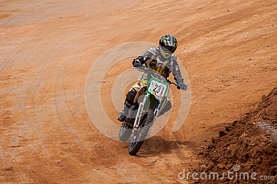 Speeding bick Editorial Photo