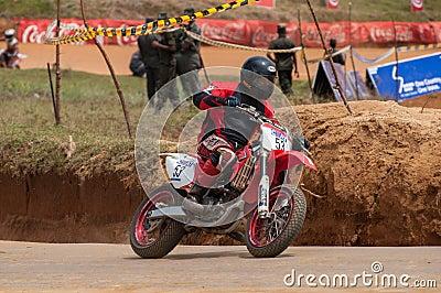 Speeding bick Editorial Photography