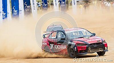 Speeding cars Editorial Stock Photo