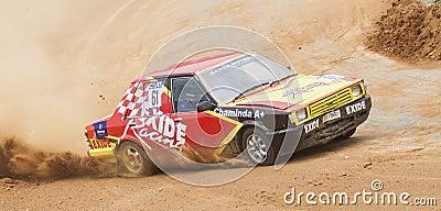 Speeding cars Editorial Photography