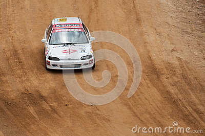 Speeding racing car in srilanka Editorial Photo