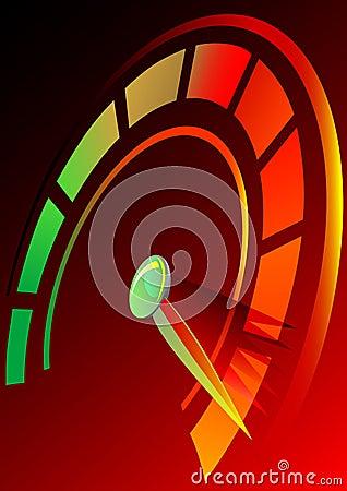 Free Speedometer Royalty Free Stock Image - 11661636