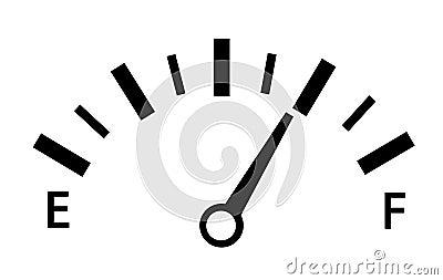 Speedometer Vector Illustration