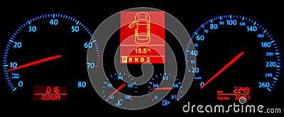 Speedometer in the Darkness