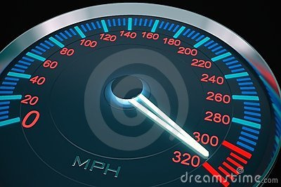 Speedometer hight speed