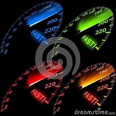 Speedometer Set