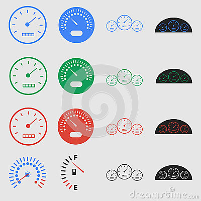 Free Speedometers Royalty Free Stock Photo - 35308835
