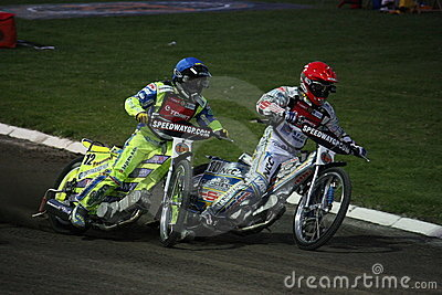 Speedway Grand Prix in Prague Editorial Stock Image