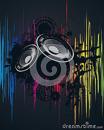Spektralparty-Plakat
