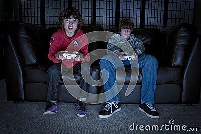 Spelar videoen