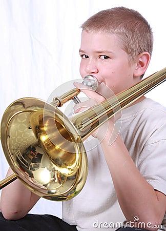 Trombonespeler 2