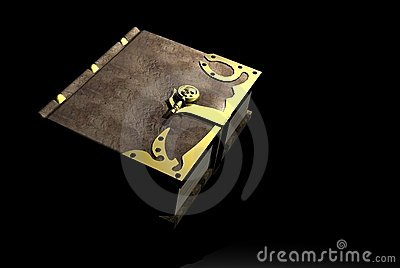 Spell Book Royalty Free Stock Photo - Image: 1059105