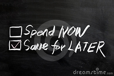 Spend now or save for later