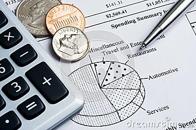 Spending summary