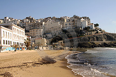 Sperlonga beach in Italy